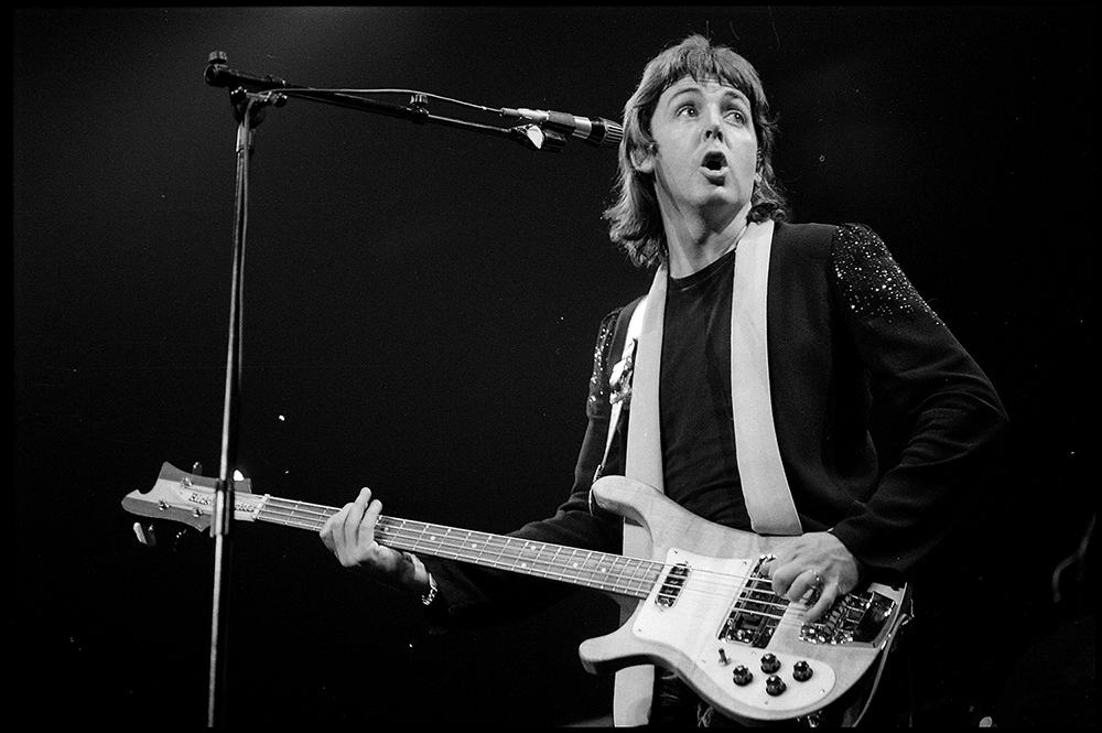 Paul McCartney  Wings - 1000x665 Rockshow 6 - 1976 MPL Communications Ltd  Photographer Robert Ellis