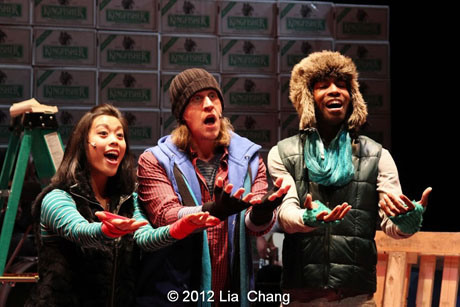 Dec. 6-22: Photo Exclusive of Samrat Chakrabarti and Sanjiv Jhaveri's BUMBUG The Musical at The Clurman Theatre