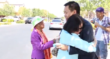 Son Surprises Mom with a new house on Mother's Day