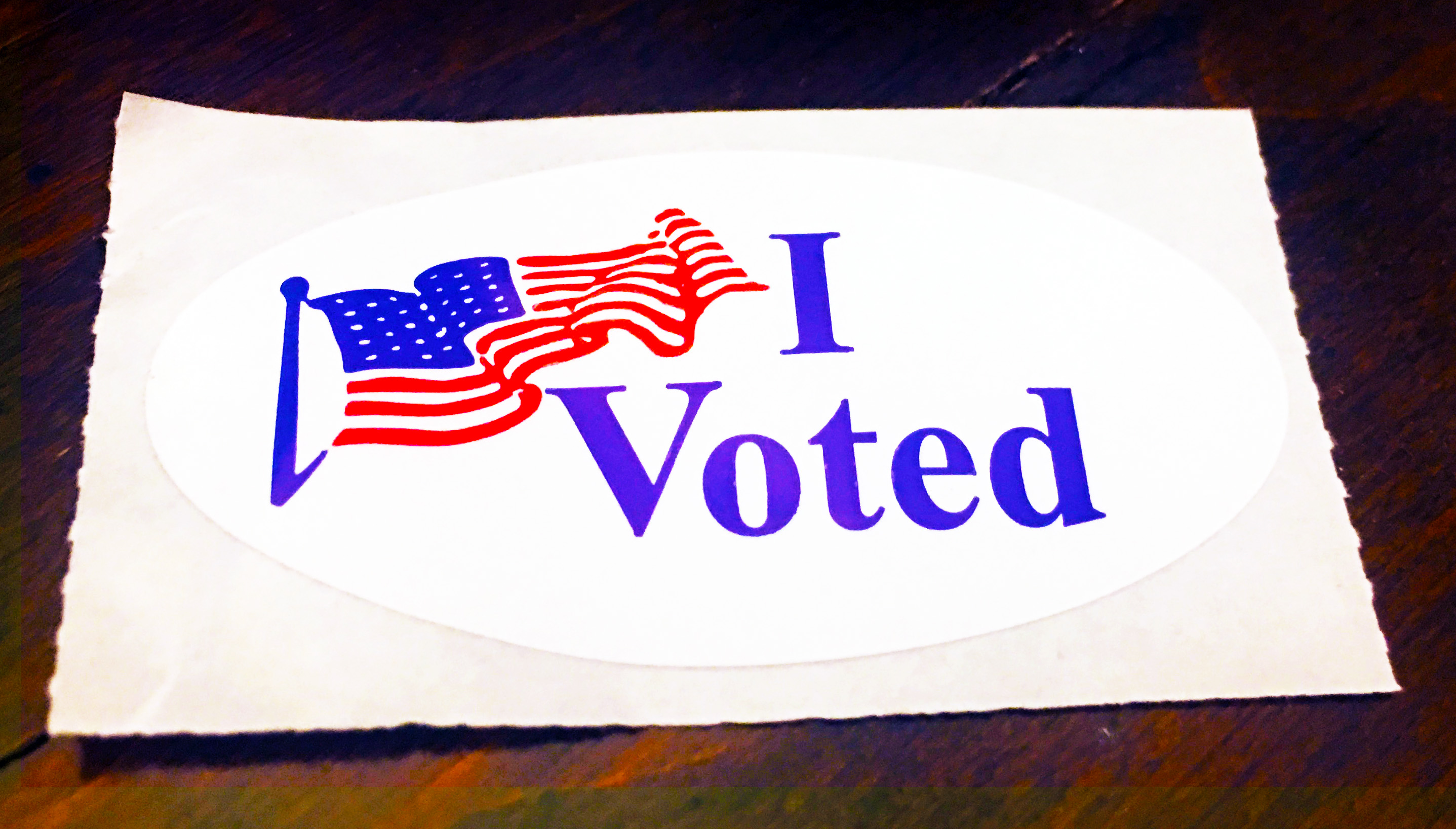 We hope you VOTED today! - November 6, 2018
