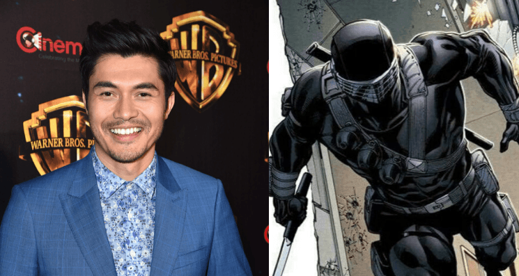 Get Ready for Henry Golding in Snake Eyes! - new release date October 22, 2021