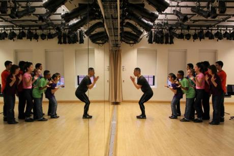 """Mar. 27: BD Wong in Rehearsal for """"Passing It On: An Evening of Mentorship to Benefit Rosie's Theater Kids"""""""